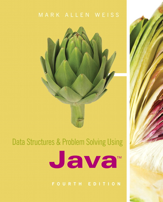 Data structures and problem solving using java pdf
