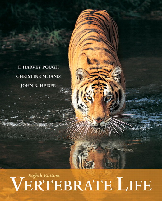 Pough, Janis & Heiser, Vertebrate Life, 9th Edition | Pearson