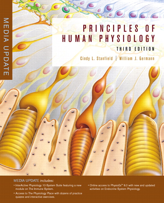 Stanfield Germann Principles Of Human Physiology Media Update