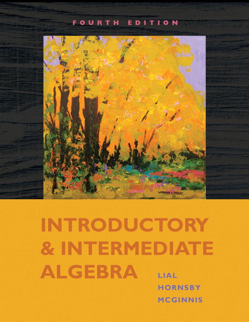 Introductory Algebra Lessons