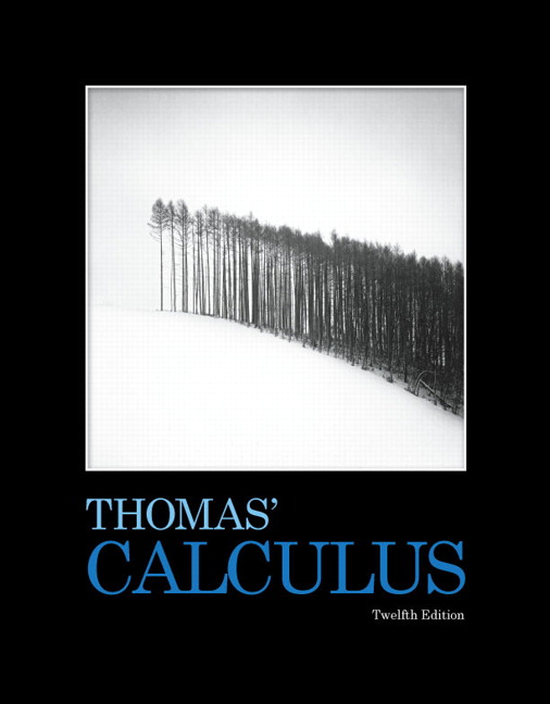 Thomas weir hass thomas calculus pearson thomas calculus 12th edition fandeluxe Gallery