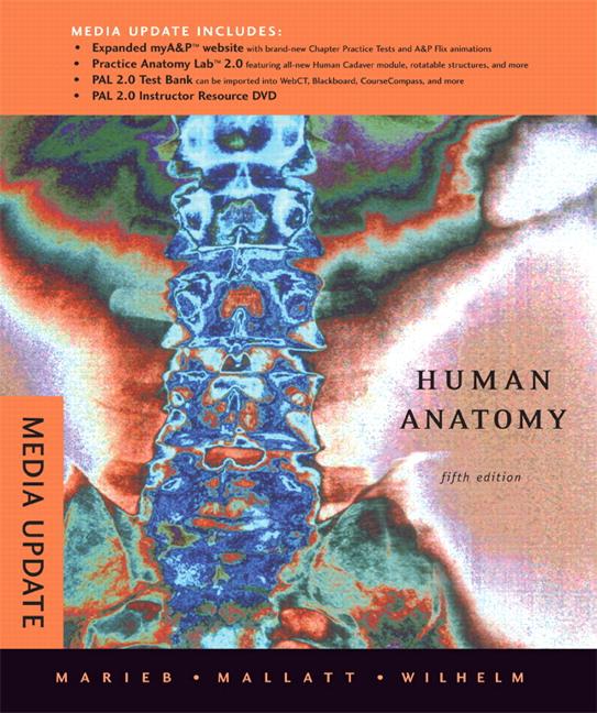 Marieb, Mallatt & Wilhelm, Human Anatomy Media Update, 5th Edition ...