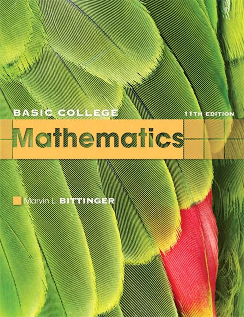 Bittinger, Beecher & Johnson, Basic College Mathematics