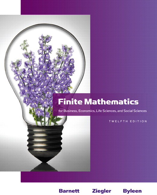barnett ziegler byleen finite mathematics for business rh pearson com