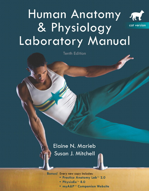 Marieb & Mitchell, Human Anatomy & Physiology Lab Manual, Cat ...