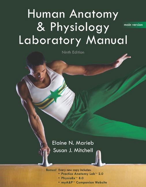 Marieb & Mitchell, Human Anatomy & Physiology Lab Manual, Main ...