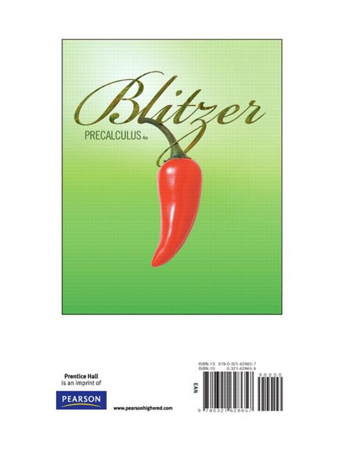 BLITZER PRECALCULUS 4TH EDITION EBOOK