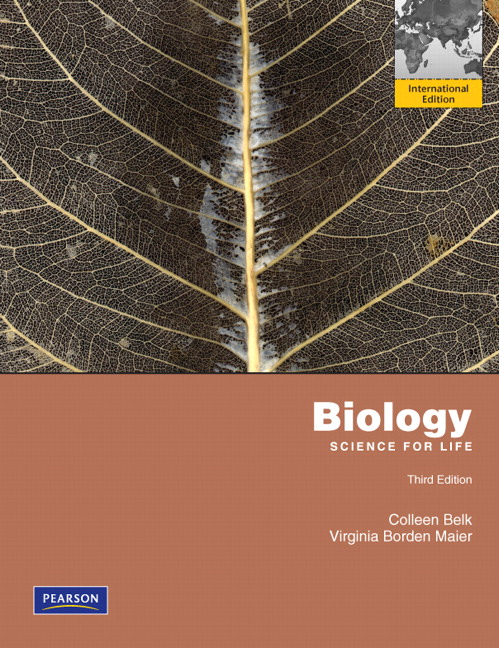 Biology: Science for Life with mybiology: International Edition, 3rd Edition