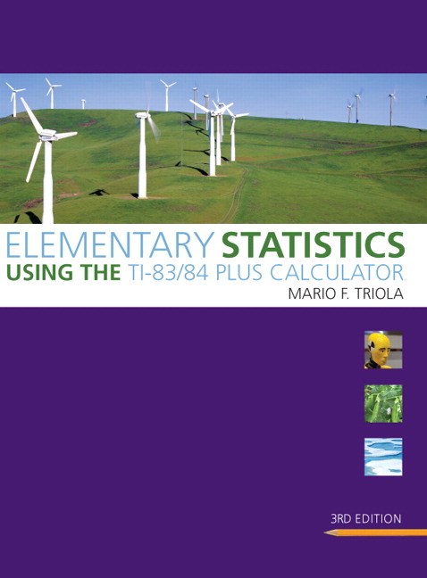 Triola elementary statistics using the ti 8384 plus calculator elementary statistics using the fandeluxe Image collections