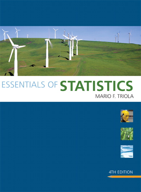 Triola essentials of statistics pearson view larger fandeluxe Choice Image