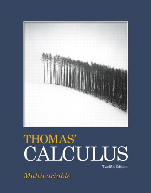 Thomas' Calculus: Multivariable