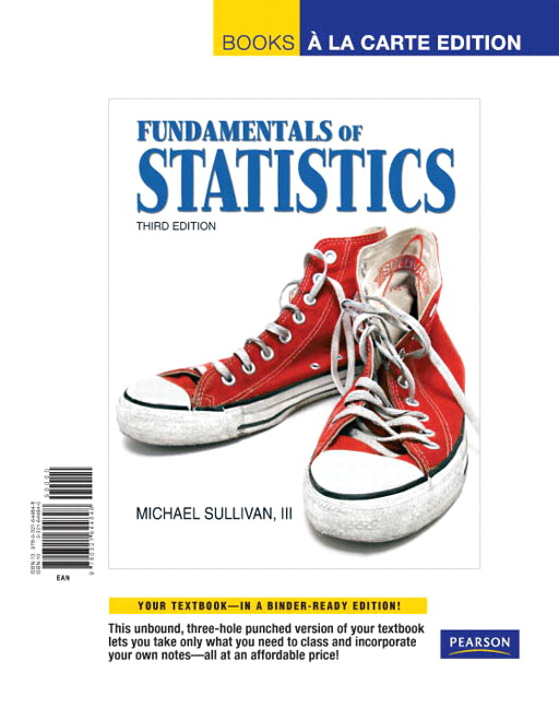 fundamentals of statistics Fundamentals of statistics is the brief version of statistics: informed decisions using data with fundamentals of statistics, author and instructor mike sullivan iii draws.