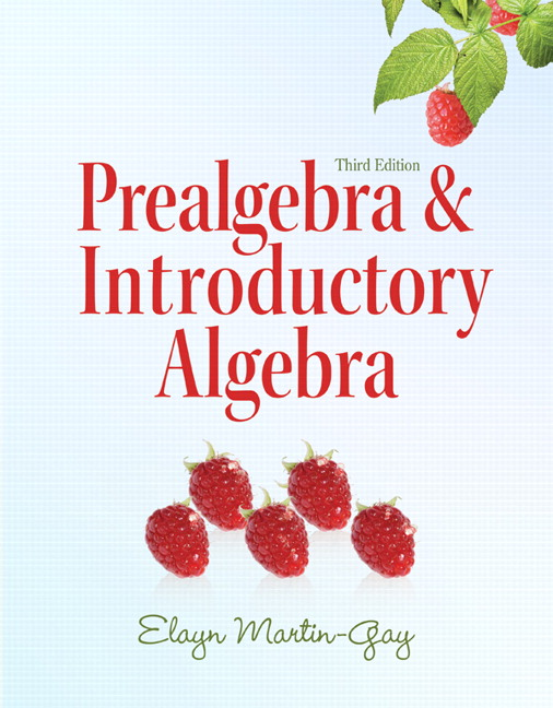 Martin gay prealgebra introductory algebra pearson view larger fandeluxe Gallery