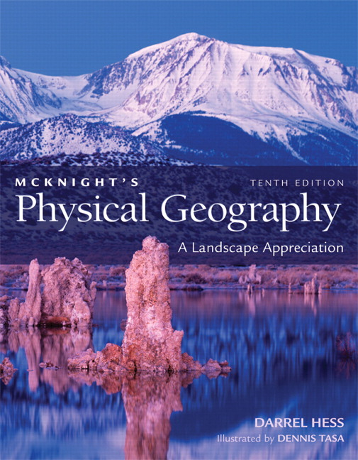 hess tasa physical geography laboratory manual for mcknight s rh pearson com Physical Geography of North America Physical Geography Landforms
