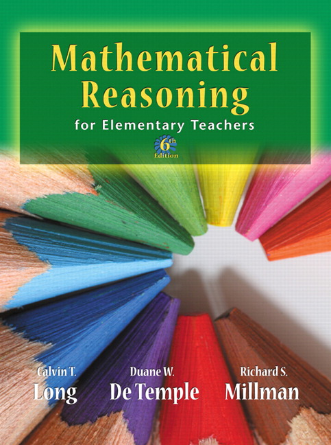 Long Detemple Millman Mathematical Reasoning For Elementary