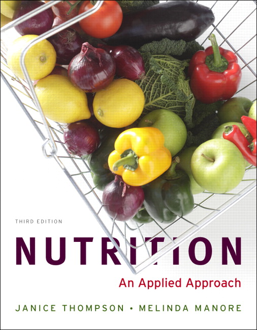 Nutrition: An Applied Approach, 3rd Edition