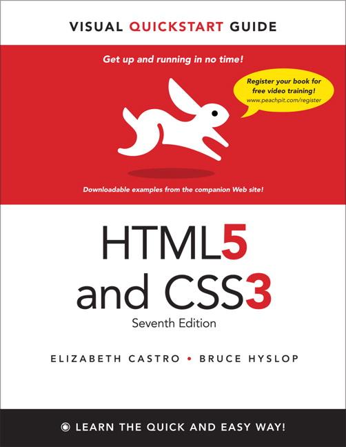 HTML5 & CSS3 Visual QuickStart Guide