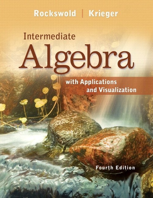 Intermediate Algebra with Applications & Visualization Plus NEW MyLab Math with Pearson eText -- Access Card Package