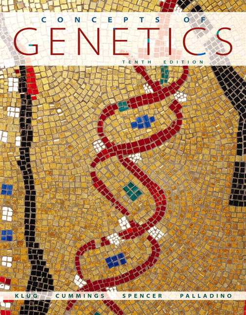 klug cummings spencer palladino concepts of genetics plus