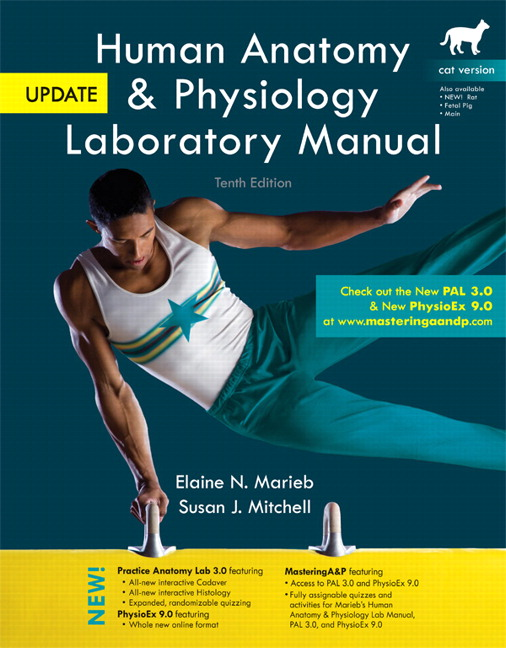 Marieb & Mitchell, Human Anatomy & Physiology Laboratory Manual, Cat ...