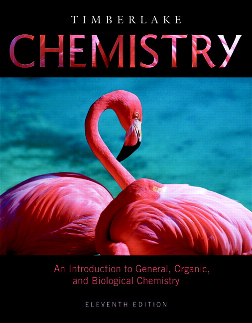 Timberlake chemistry an introduction to general organic and chemistry an introduction to general organic and biological chemistry plus mastering chemistry with etext access card package 11th edition fandeluxe Image collections