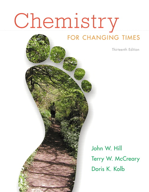 Chemistry for changing times 13th edition pdf