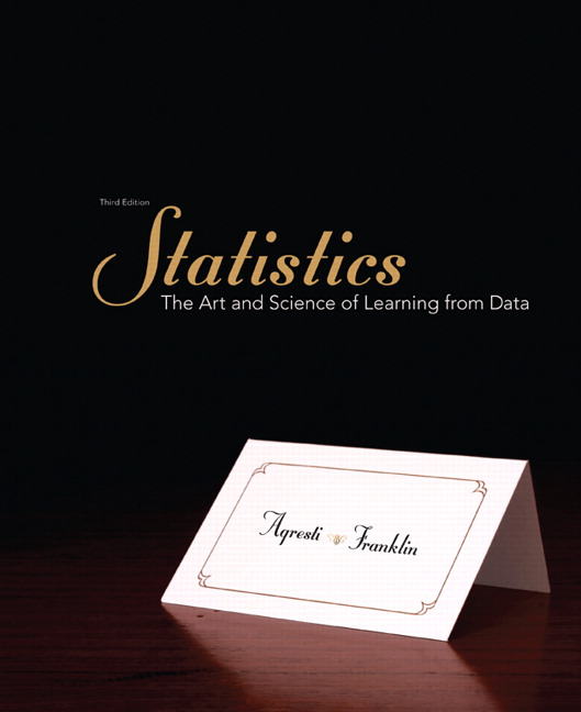 Agresti Franklin Statistics The Art And Science Of Learning From