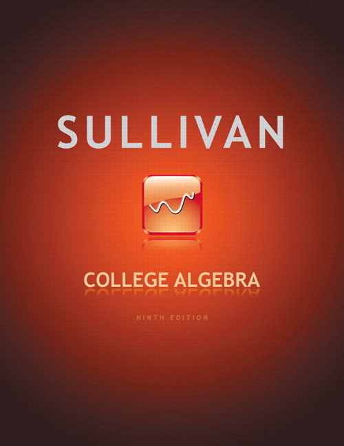 College Algebra plus MyLab Math/MyLab Statistics -- Access Card Package