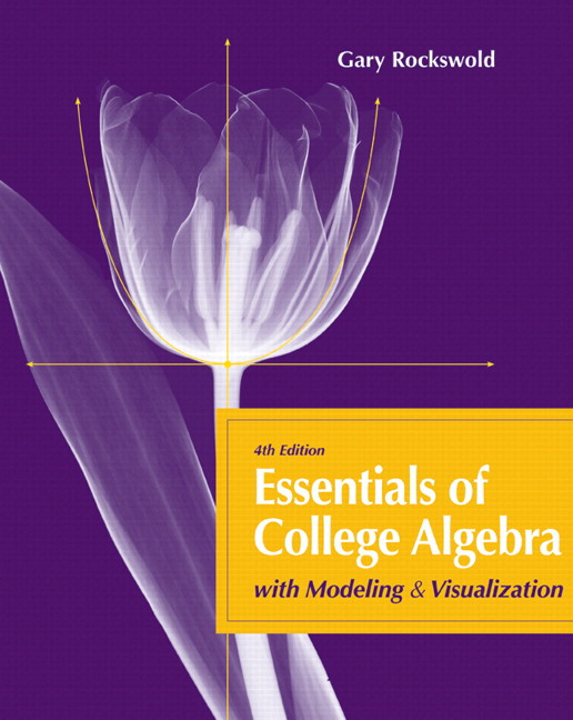 Pearson education mylab math standalone access card pearson essentials of college algebra with modeling and visualization plus mylab math with pearson etext access card package 4th edition fandeluxe Gallery