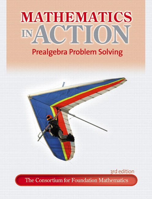 Mathematics in Action: Prealgebra Problem Solving, 3rd Edition