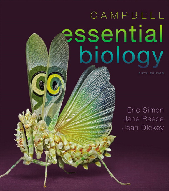 Simon dickey hogan reece campbell essential biology 6th campbell essential biology plus mastering biology with etext access card package 5th edition fandeluxe Choice Image