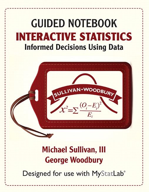 Sullivan Woodbury Interactive Statistics Informed Decisions