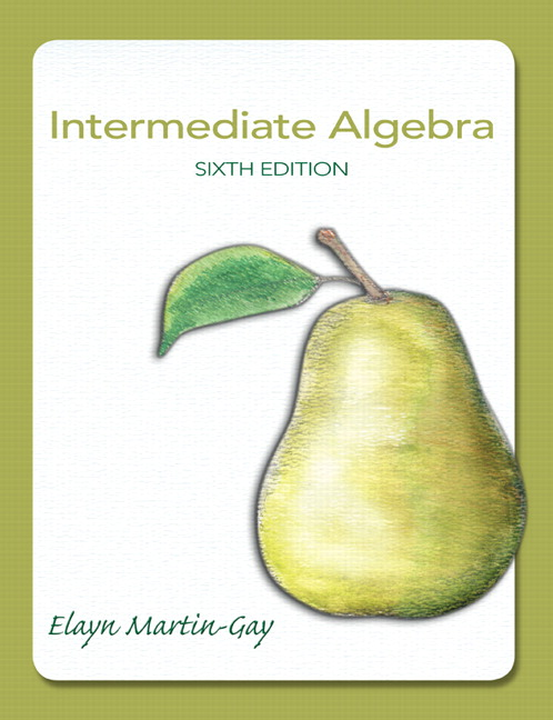 Martin gay intermediate algebra pearson intermediate algebra subscription 6th edition fandeluxe Gallery