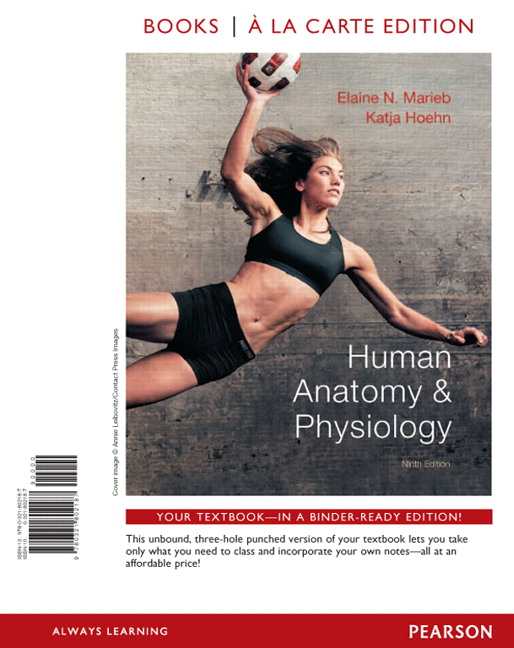 Marieb & Hoehn, Human Anatomy & Physiology, Books a la Carte Plus ...