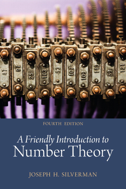 Friendly Introduction to Number Theory, A, 4th Edition