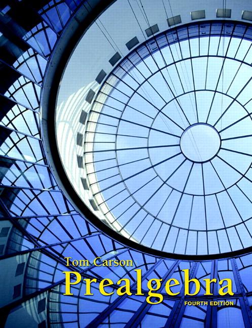 Prealgebra, 4th Edition