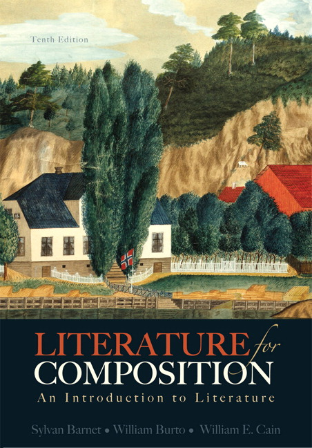 Barnet burto cain literature for composition an introduction literature for composition an introduction fandeluxe