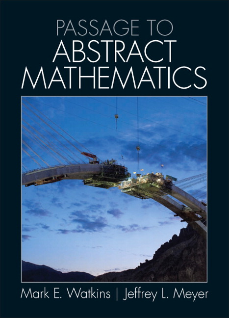 Passage to Abstract Mathematics (Subscription)