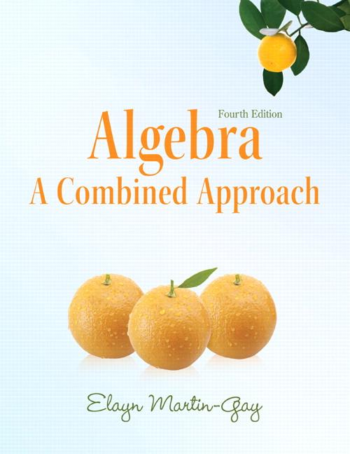 from Micah martin gay algebra