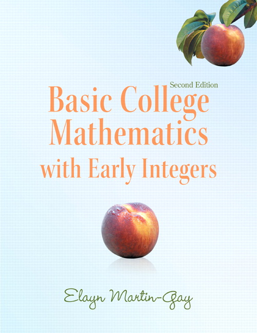 Basic College Mathematics with Early Integers (Subscription)