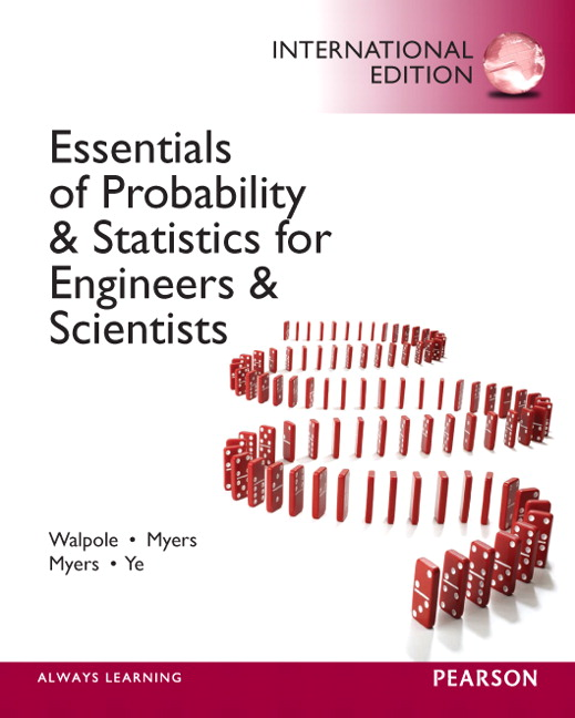 Walpole myers myers ye essentials of probability statistics book cover fandeluxe Choice Image