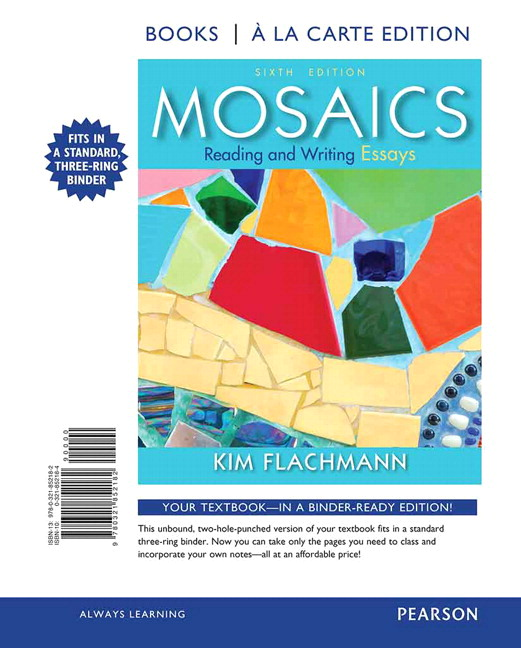 writing paragraphs and essays 6th edition Writing paragraphs and essays: integrating reading, writing, and grammar skills (available titles cengagenow) 6th edition.