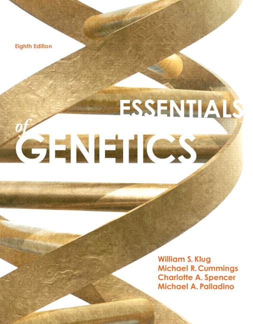 Klug Cummings Spencer Palladino Essentials Of Genetics Plus