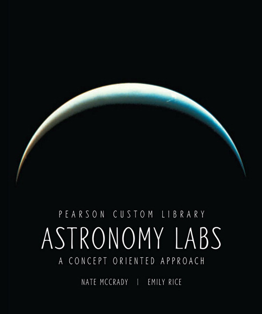 Astronomy Labs: A Concept Oriented Approach