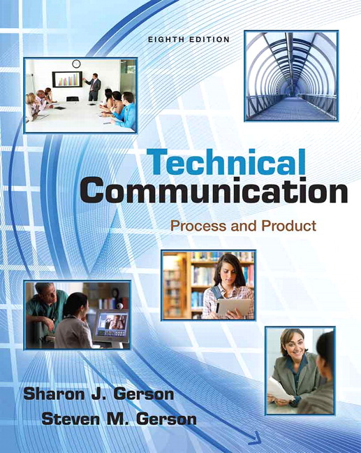 Gerson gerson technical communication process and product pearson technical communication process and product 8th edition fandeluxe Images
