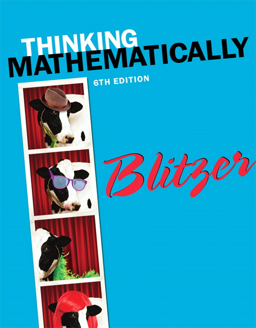Blitzer thinking mathematically 6th edition pearson thinking mathematically 6th edition blitzer fandeluxe Gallery