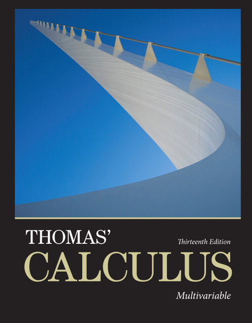 Thomas, Weir & Hass, Thomas' Calculus: Multivariable | Pearson