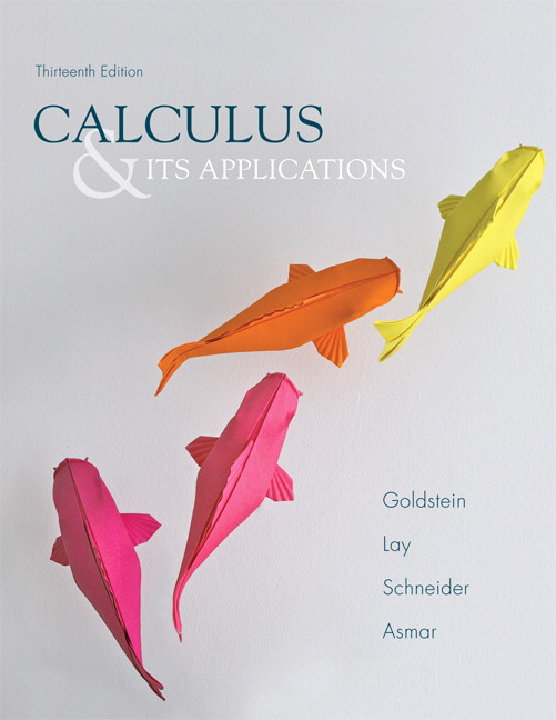Calculus & Its Applications (Subscription)