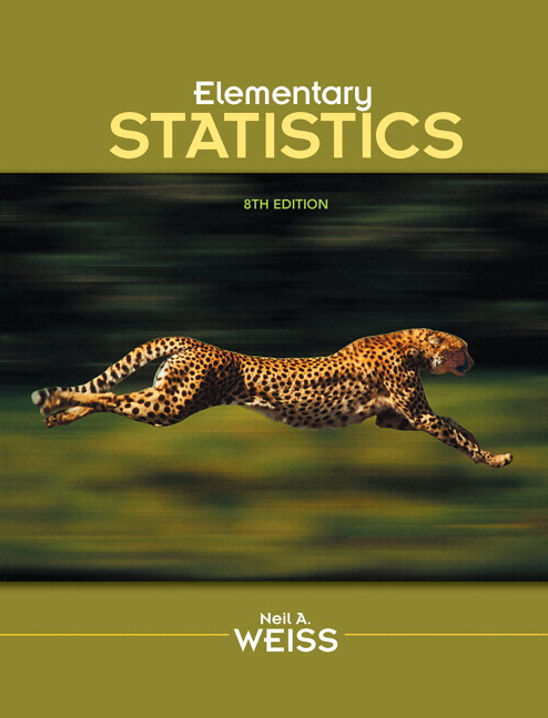 Weiss elementary statistics 9th edition pearson elementary statistics plus mylab statistics with pearson etext access card package 8th edition fandeluxe Images