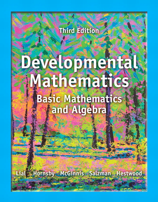 Developmental Mathematics: Basic Math and Algebra Plus NEW MyLab Math with Pearson eText -- Access Card Package